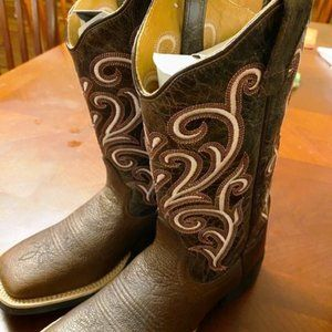 Old West Boots Kelly Brown Size 5